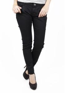 Slim Fit Black Elegant Jeans