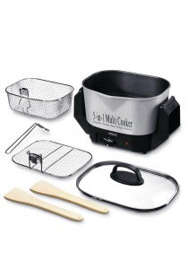 Princess 171110 5 In 1 Multi Cooker with Steam & Fry Basket