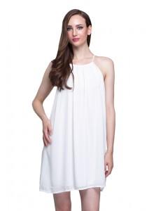 Angel Court Sleeveless Slash Neck Mini Dress AC58-5801