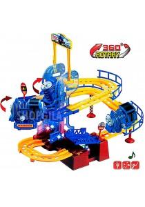 Thomas & Friends 360 Rotary Railway Train Set With Flash & Music