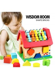 Wisdom House Wooden Educational Building Blocks