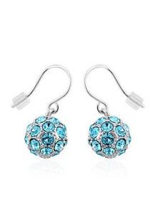 OUXI Happiness Earrings (Aquamarine)