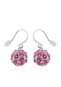OUXI Happiness Earrings (Rose)