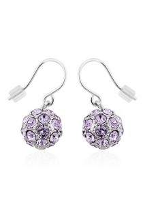 OUXI Happiness Earrings (Violet)