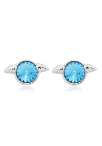 OUXI Angel Crystal Studs Earring