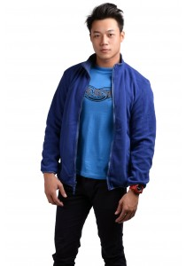 ViQ Men's Reversible Jacket (Blue)