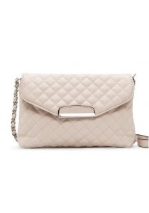 Mango Quilted Sling Chain Bag