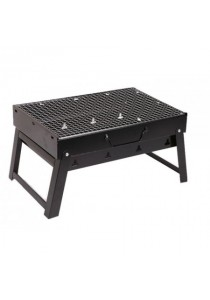 Portable Handheld Folding Steel BBQ Grill