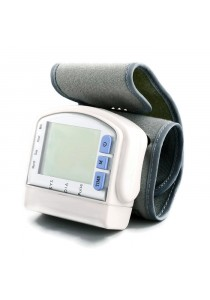 LCD Automatic Wrist Blood Pressure Monitor Medical Arm Meter Pulse (CK-103)