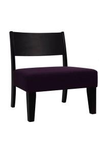 nesthouz.com Kietaro Lounge Chair in Orchid/Ebony Colour