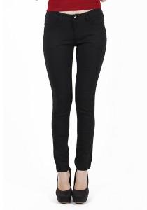 Black Frankie Slim Fit Pants