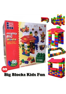 Mighty Big Blocks 88-pcs Jumbo Kids Fun Set