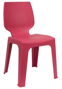 nesthouz.com Optimus D Side Chair in Pink Colour