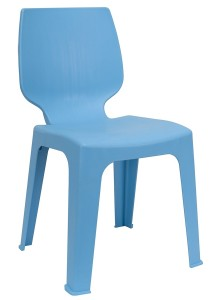 nesthouz.com Optimus D Side Chair in Blue Colour