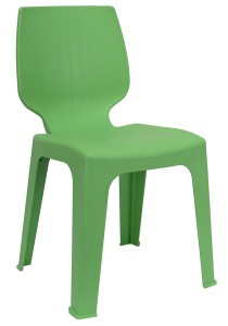 nesthouz.com Optimus D Side Chair in Green Colour