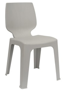 nesthouz.com Optimus D Side Chair in Grey Colour
