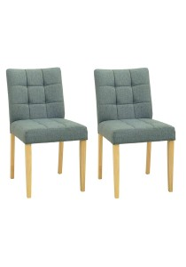 nesthouz.com Davin Dining Chair in Natural/Whale Colour x 2pcs