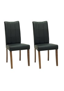 nesthouz.com Layla Dining Chair in Cocoa/Espresso Colour x 2pcs