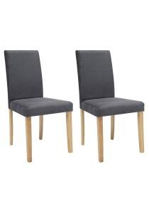 nesthouz.com Lenore Dining Chair in Natural/Ash Colour x 2pcs