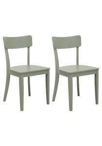 nesthouz.com Diara Dining Chair in Grey Colour x 2pcs