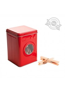 Clothes Peg, Balvi, Washing Machine Clothes Peg for Laundry (Red)