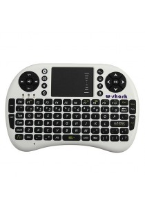 2.4G RF Mini Wireless Keyboard Mouse Touchpad Handheld Android TV BOX HTPC (White)