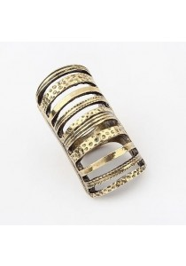 Papyrus Gold Color Hollow Ring