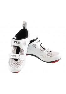 FLR F-121 Triathlon Bike Cycling Shoes - White