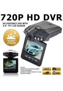 2.5' HD Car 720P DVR Road Video Camera Recorder Camcorder LCD 270°