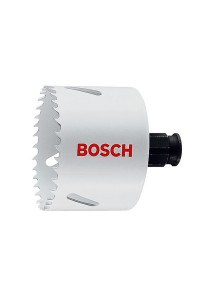Bosch Progressor Hole Saw 52mm (Wood/Metal) White