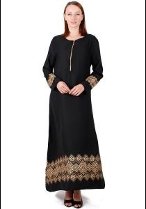 KM Muslimah Jubah Egyptian Silhoutte Free Size