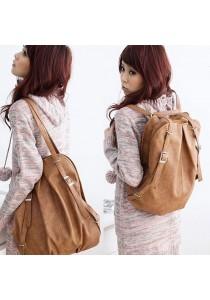 SWEETY GIRL Korean Stylish Backpack GP278 BROWN