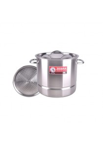 ZEBRA 28 x 26cm Stock Pot with Steamer