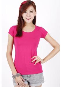 KM Women Short Sleeve Crew Neck T-Shirt Free Size