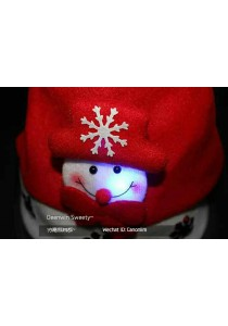 Christmas Hat with LED - A