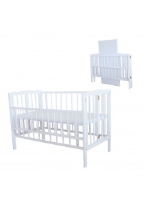 Royalcot R295 Baby Cot White Off Foldable Cot