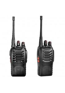 BaoFeng BF-888S 3KM Walkie Talkie 16 Channel Radio UHF FM Transceiver