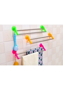 Stainless Steel Double Towel Bar Rack