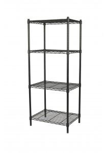 Vetop Storage 4 Tiers Rack Medium - Black