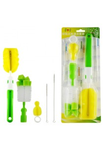 Baby Bottle Cleaning Brushes, Set of 5 - BKM22 (Green)