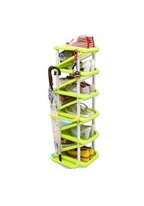 OEM 11 Tier Shoe Rack (Green)