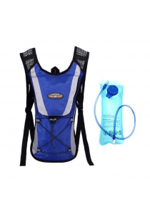 Cycling Sport Backpack with 2L Water Bag (Blue)