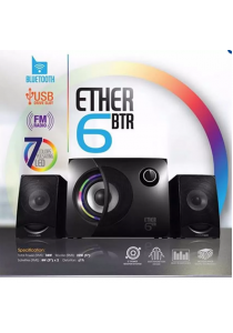 Vinnifier Ether 6BTR 2.1 Speaker with Built in Bluetooth, FM and USB