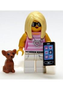 LEGO MINIFIGURE Series 10-14 Trendsetter