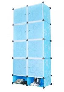 Tupper Cabinet  10 Cubes Mini Bottom Blue Flower DIY Cabinet
