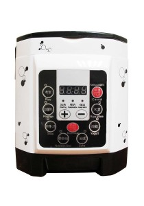 2L Multi-Function Dual Languages Mini Rice Cooker with Timer