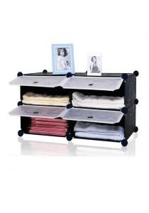 Tupper Cabinet 4 Cubes Black Stripes DIY Bathroom Storage
