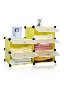 Tupper Cabinet 5 Cubes Fruit Green DIY Bathroom Storage Rack