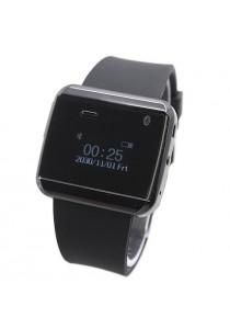 U Watch 2S Bluetooth 3.0 Anti Theft Waterproof Smart Watch (Black)