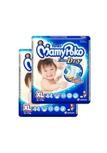 2 Units Mamypoko Extra Dry Diaper Super Jumbo Pack 44-Piece XL